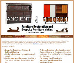 Ancient & Modern Furniture Restoration & Bespoke Furniture Making